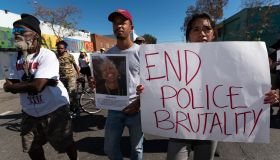 Police Brutality Protest in Los Angeles