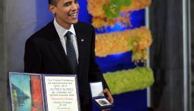 Nobel Peace Prize laureate, US President