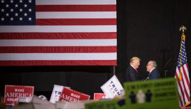 Giuliani Greets Trump