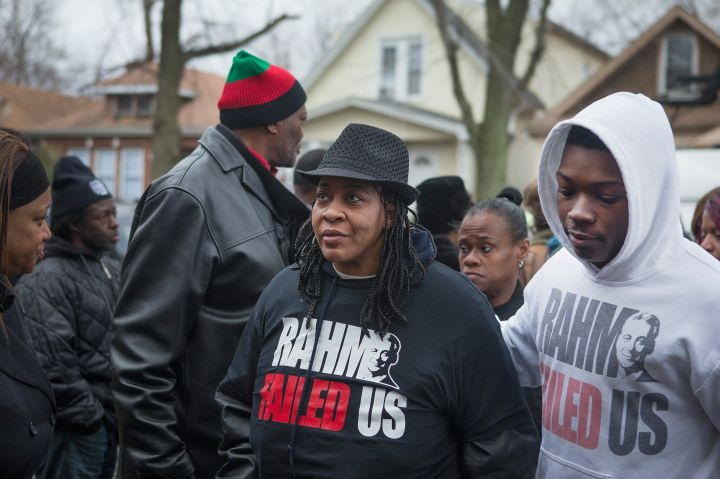 Vigil Held For Woman And Teen Boy Shot And Killed By Chicago Police
