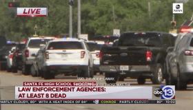 santa fe texas school shooting