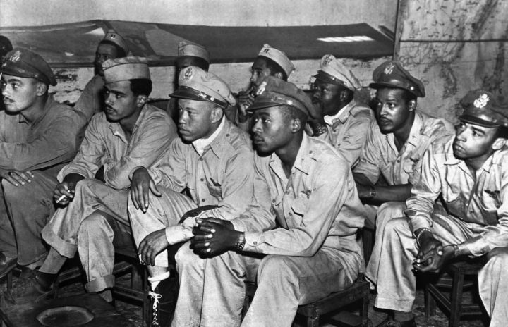 Black Air Force Pilots in World War II