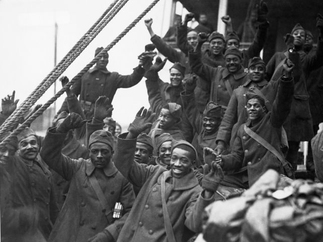 369th Colored Infantry Returns Home