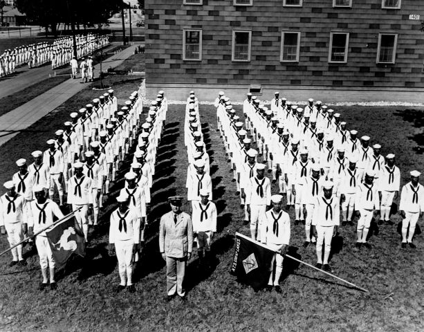 African-American Naval Recruits