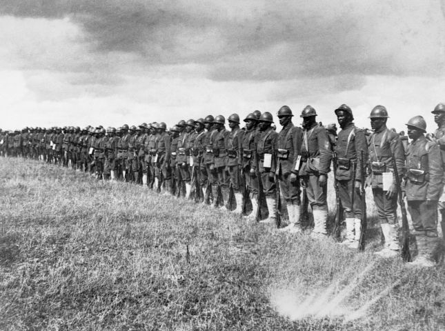 African American Soldiers in France