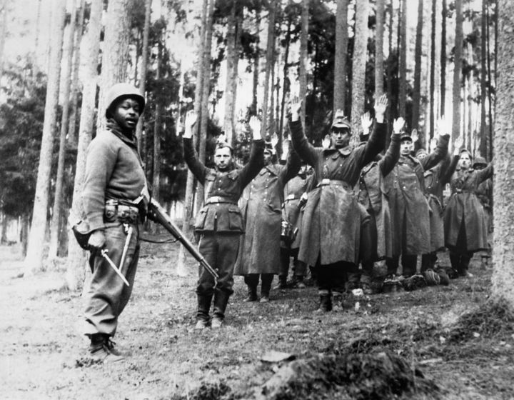 Nazis Captured in the Forest