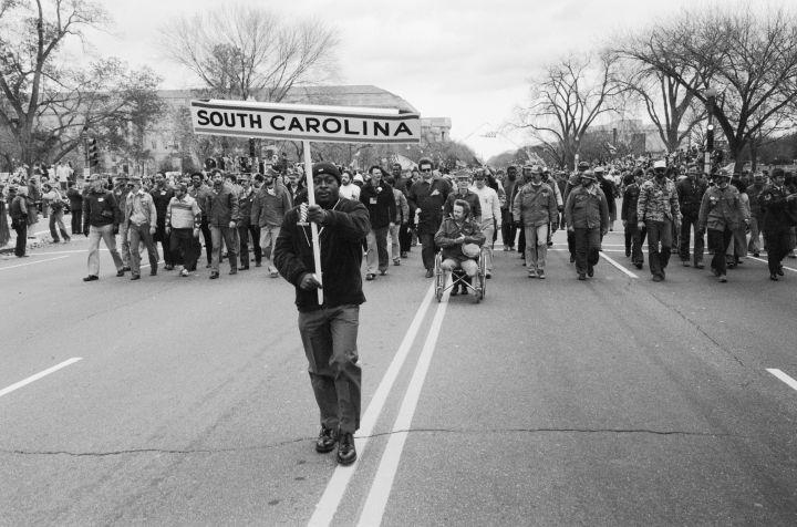 Parade of Vietnam Veterans