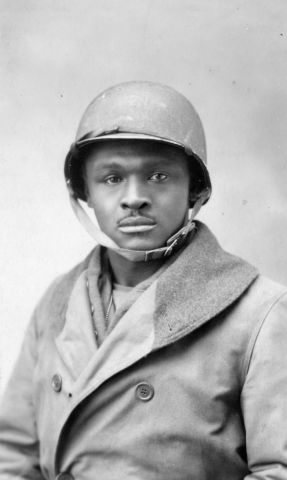 WW1 African American Soldier
