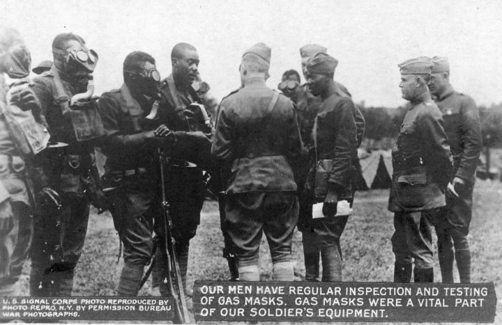 Us Soldiers Testing Gas Masks