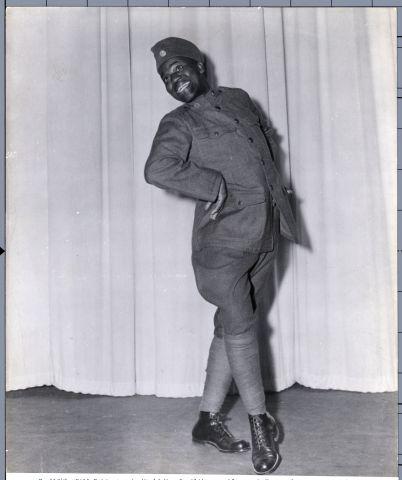 Bill Robinson In Military Uniform