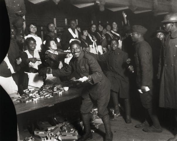 Cigarette Table At Dinner For Infantry