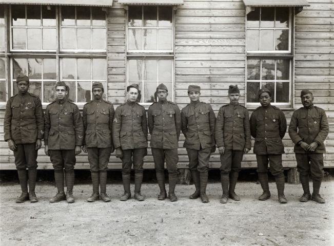 World War I African American Soldiers