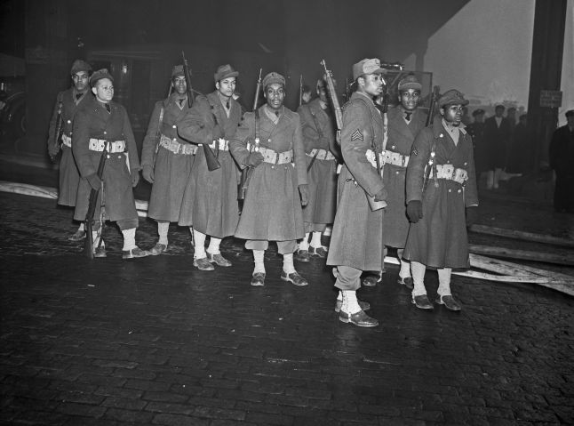 Soldiers Group During WWII