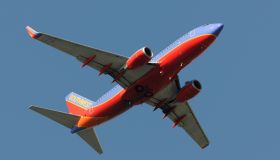 Southwest Airlines Boeing 737-700 flying enroute