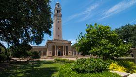 Baton Rouge Louisiana LSU Louisiana State University famous Memorial Tower at LSU
