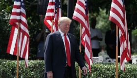 President Trump Holds 'Celebration Of America' Event On South Lawn Of White House