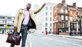 Hailing a cabbie in London