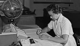 Katherine Johnson At Work
