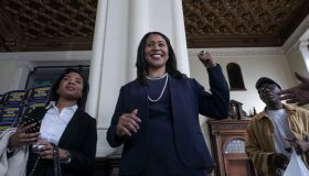 SAN FRANCISCO, CA - MARCH 8: London Breed, candidate for San Fr