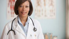 Portrait of female Dr.