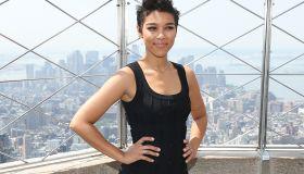 'X-Men: Apocalypse' Cast Visits The Empire State Building