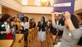 Ayanna Pressley Fundraiser At Museum Of African American History