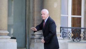 John McCain à l'Elysée