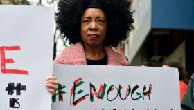 Anti-Racism Protest at Starbucks in Philadelphia, PA