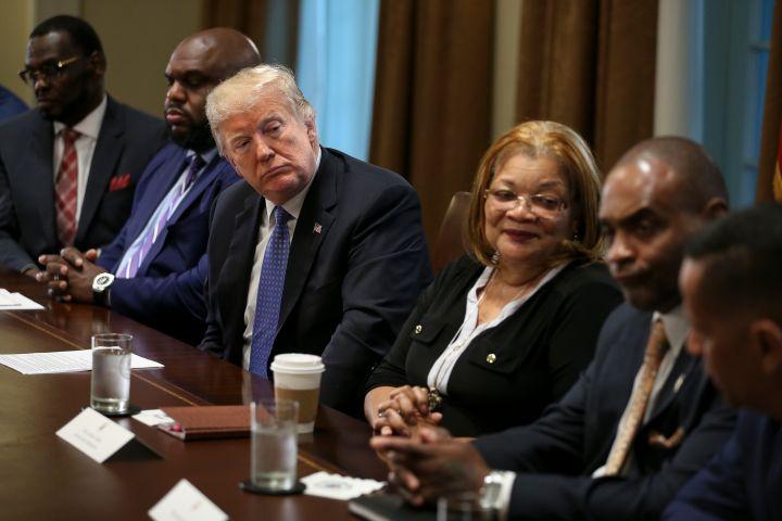 President Trump Hosts Meeting with Inner City Pastors