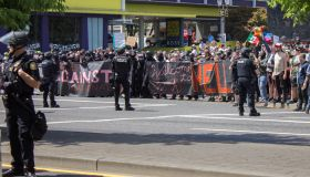 Far-Right Groups Hold Rally In Portland, Oregon