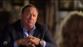 Alex Jones during an appearance on NBC's 'Sunday Night with Megyn Kelly.'