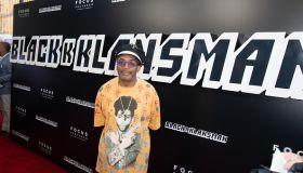 Spike Lee attends the Premiere Of 'BlacKkKlansman'