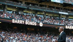 Barry Bonds San Francisco Giants Number 25 Retirement Ceremony
