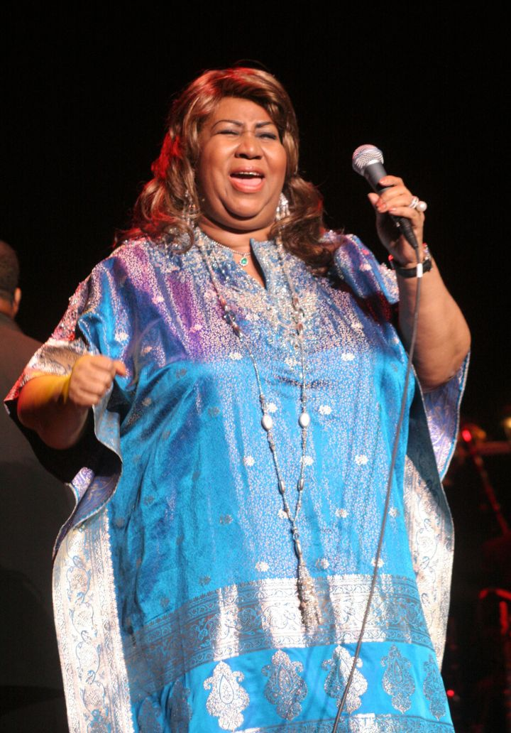 Aretha Franklin Performs for The National Marfan Foundation Benefit