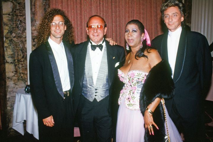 Clive Davis At New York Friars Club