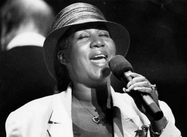 Aretha Franklin In In 1993