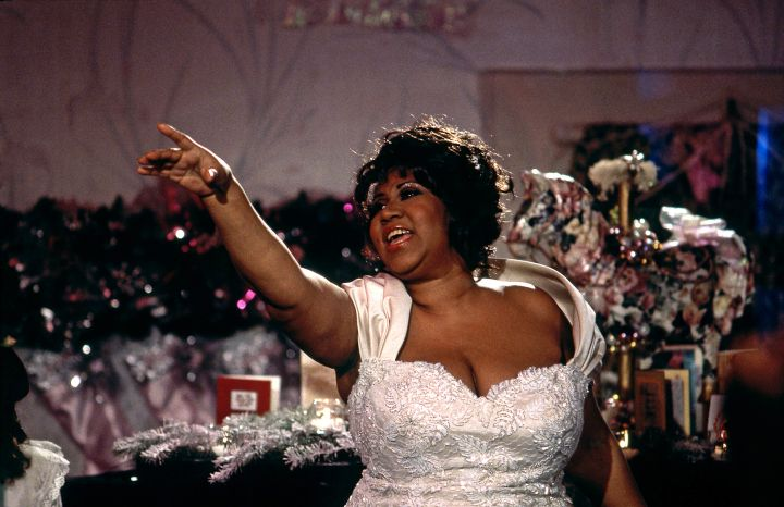 Aretha Franklin Appears On Christmas At Home With The Stars