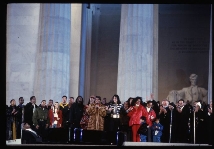 Inauguration of President Clinton in 1993