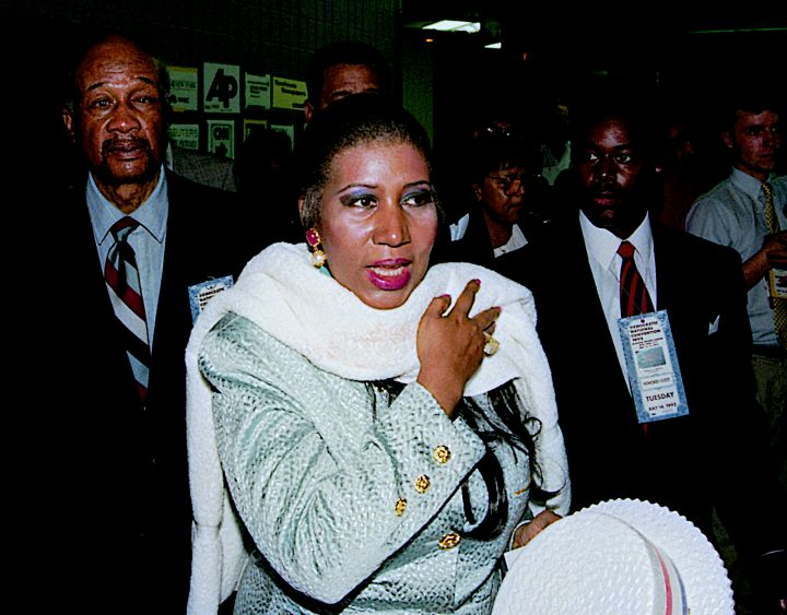 Aretha Franklin at The Democratic National Convention