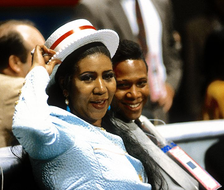 Aretha Franklin at the Democratic Convention