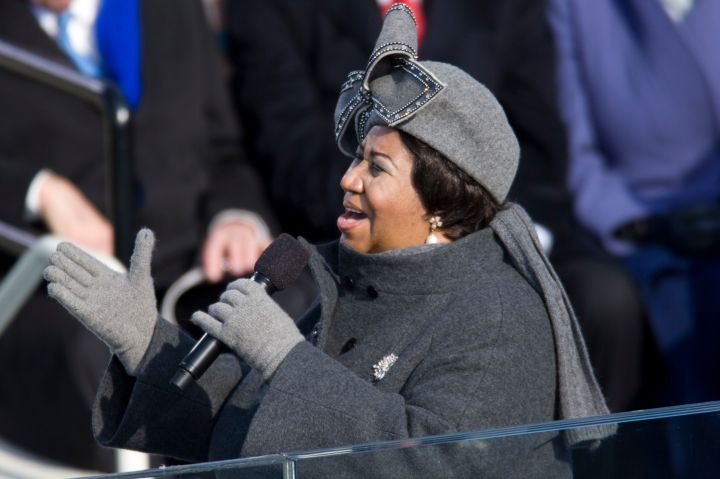 USA - Presidential Inauguration - Aretha Franklin Performs