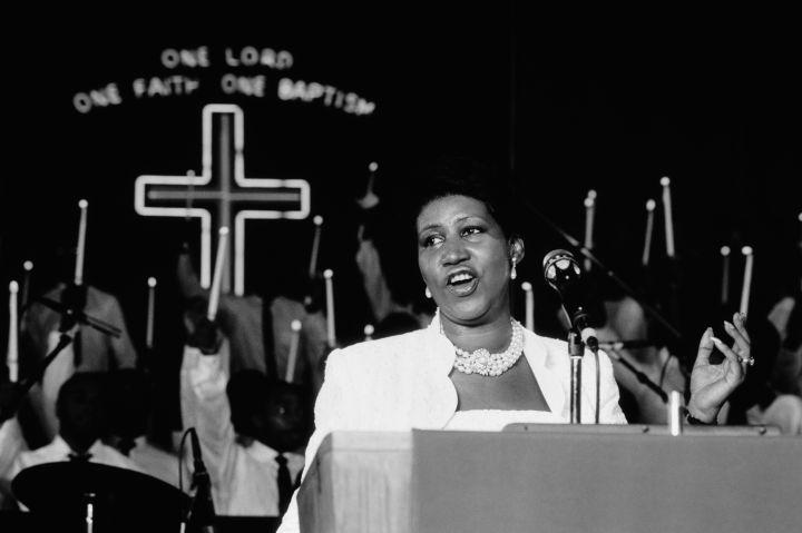 American Gospel Singer Aretha Franklin
