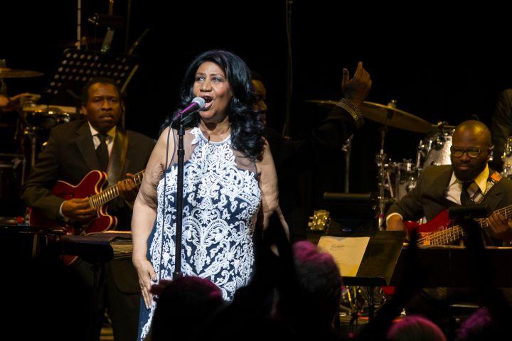 Aretha Franklin concert in Austin