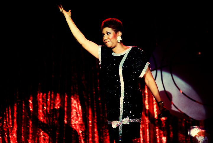 Aretha Franklin At The Hyatt Hotel