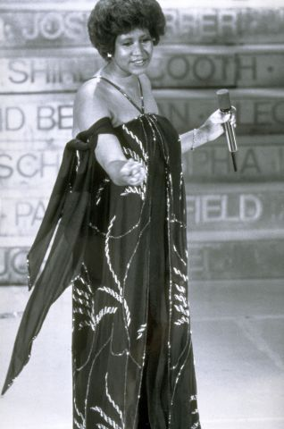 Aretha Franklin At The 50th Annual Academy Awards