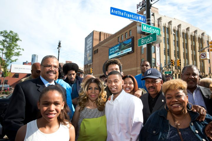 Aretha Franklin Street Naming