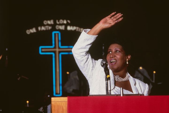 Aretha Franklin, 76