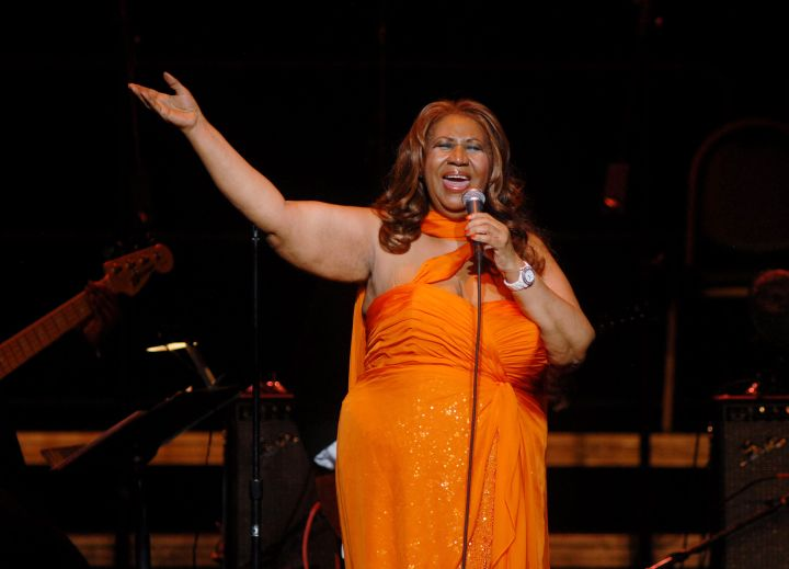 Aretha Franklin In Concert – Detroit, MI