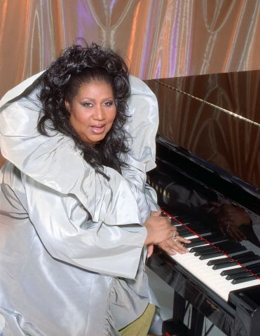 Aretha Franklin Portrait Session