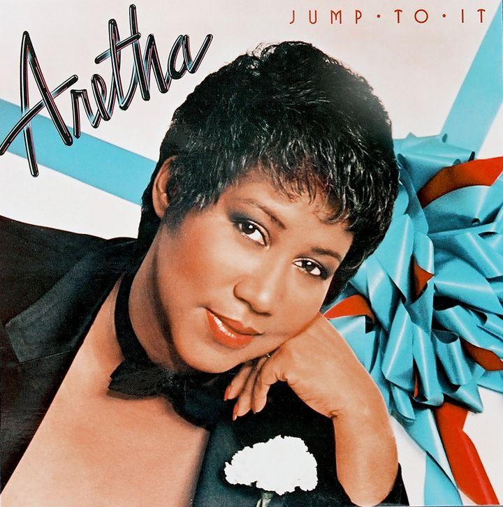 Aretha Franklin Album Cover